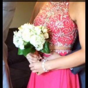Pink 2 Piece Dress